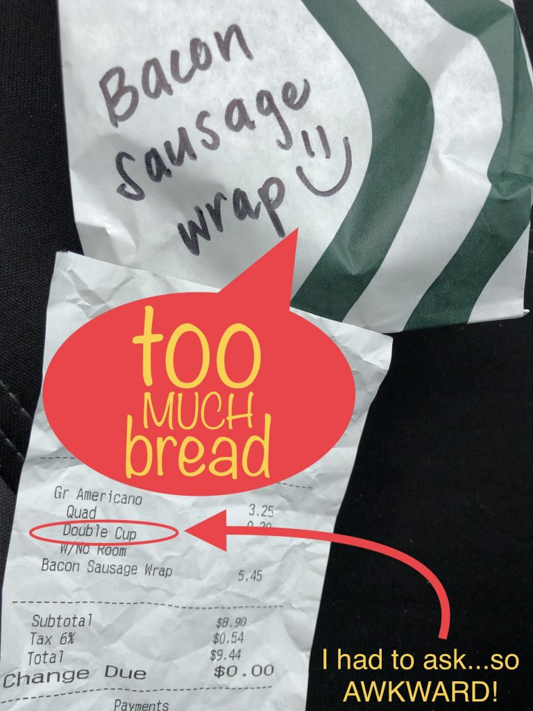 Starbucks New Bacon Sausage Wrap
